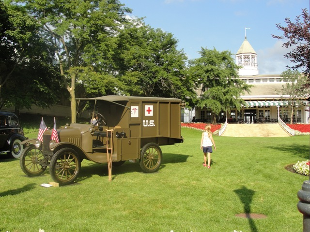 Model T M Ford Ambulance